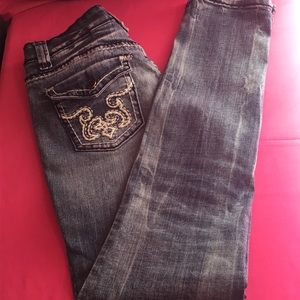 Soundgirl 🌺 Stretchy Boot Cut Jeans Size 9